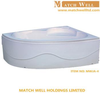 Acrylic Small Size Rose Quartz Bathtub