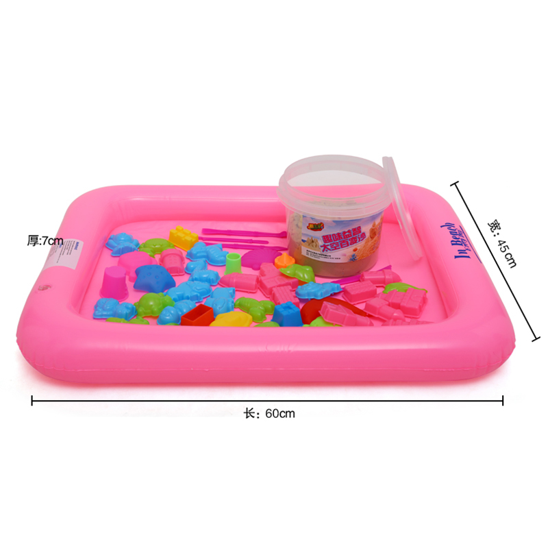 get quotations child semiportable inflatable sand table space sand table sand swimming toys pallet air cushion childrens