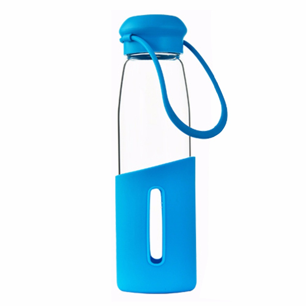 SGS Self Cooling Packing Machine Cycling Glass Water Bottle
