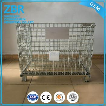 Metal Bulk Containers On Sale Welding Rod Container Wire Storage