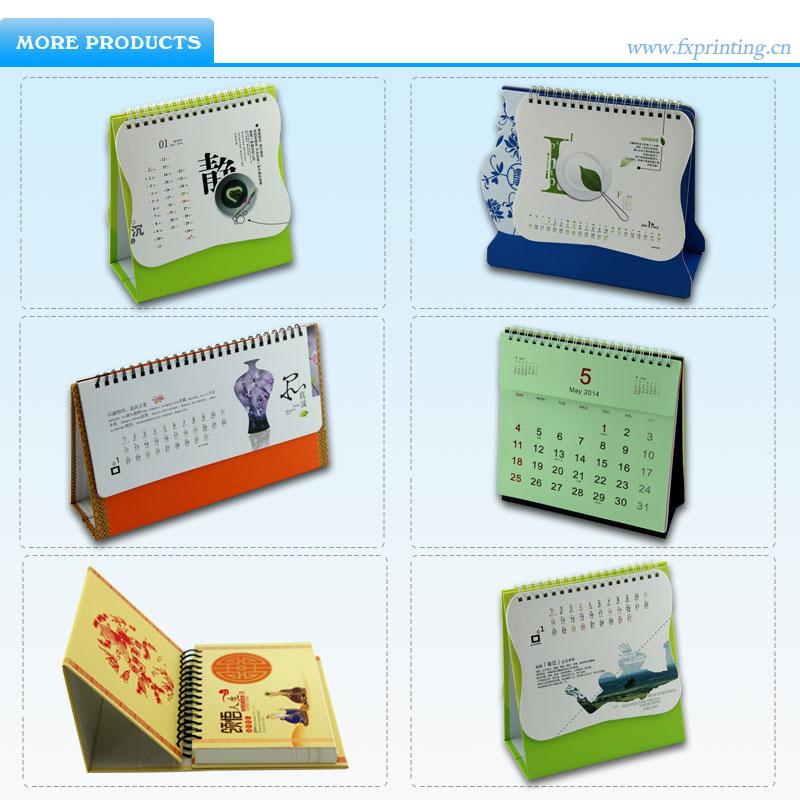 2014 best creative table calendar design manufacturer in - Desktop calendar design ideas ...