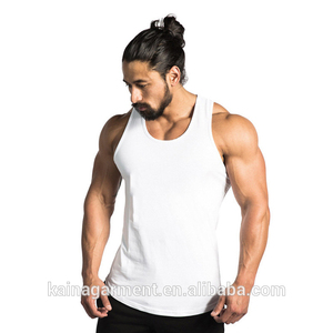 dcf2c3b6abeb4 China manufacturer muscle fit running singlets mens wholesale blank white  tank top