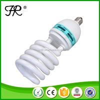 High brightness half spiral led energy saving light with factory price