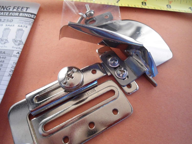 TOP BOTTOM DOUBLE FOLD BIAS TAPE BINDER CLOTH GUIDE Bernina Quilt Binding #A9S