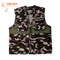 Adjustable Fly Fishing Vest Backpack MultiPocket High Quality Best Price Outdoor Sports Outerwear Vest Army Green