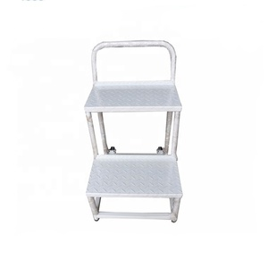 Fine China Super Quality Aluminum Wide Step Ladder Bralicious Painted Fabric Chair Ideas Braliciousco