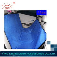 pet travel hammock car seat cover, wholesale pet car seat cover protector, waterproof pu coating pet car seat