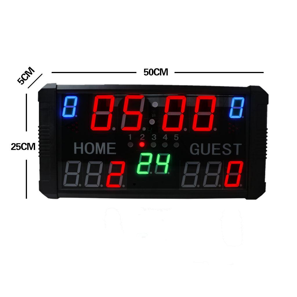 Low cost digital basketball scoreboard led scoreboard diy tennis scoreboard