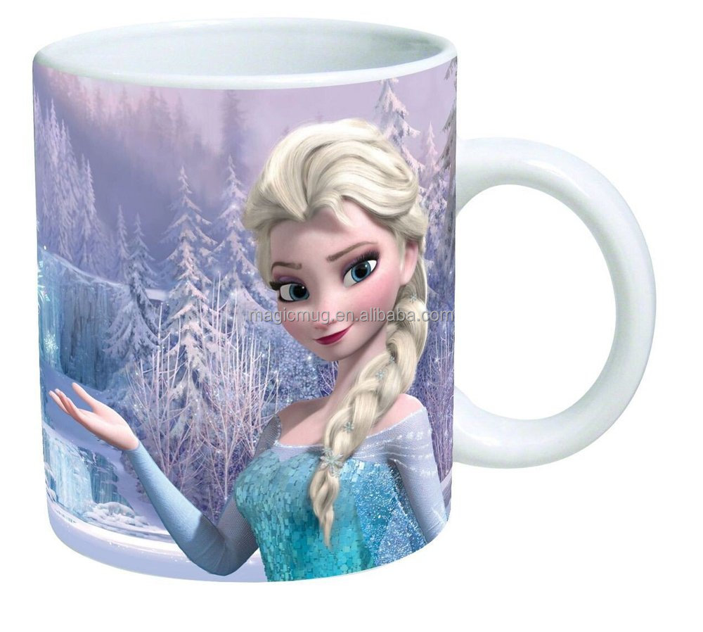 2015 Promotional 11oz Ceramic Coffee Mug Frozen Snow Queen ...