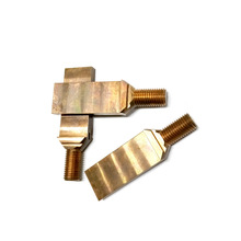 Precision CNC 5-axis machining parts copper brass/ anodized aluminum parts