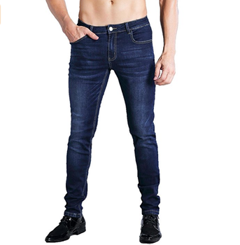 Casual wear autunno cotone skinny fit mens pantalones jeans made in guangzhou