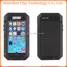 Aluminum Shockproof Gorilla Glass for iphone 5 waterproof case, for iphone 5 gorilla case, for iphone 5 metal case