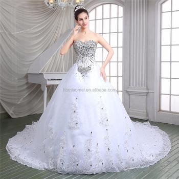 Mewah Garis Leher Manis Renda Kerajaan Gaun Dalam V Leher Warna Putih Laced Gaun Pernikahan 2016 Buy Gaun Pernikahan 2016 Baju Mewah Pernikahan