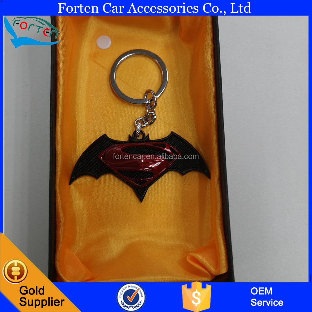 Key Chains New Marvel Superman Keychain For Men Trinket Batman Keyring Man Star War Darth Vader Car Key Chain Holder Jewelry Gift Souvenirs Online Discount