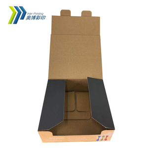 Custom Printed Recycled Cardboard Paper Packaging Boxes Corrugated Cartons