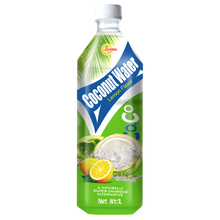 1L Bulk wholesale bottled natural organic sparkling lemon flavour product type coconut water drink
