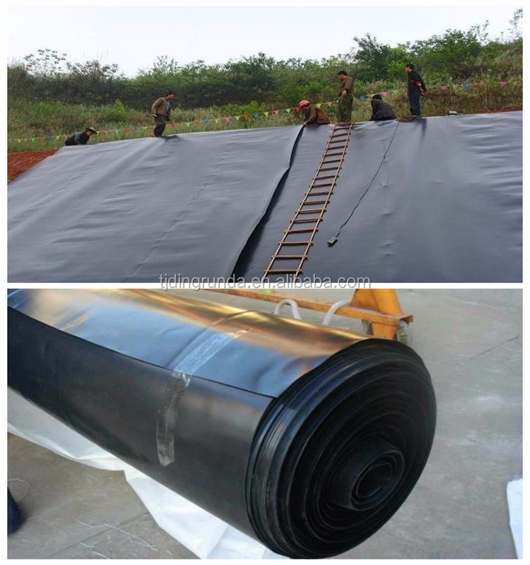 ISO standard 2mm HDPE geomembrane for landfill