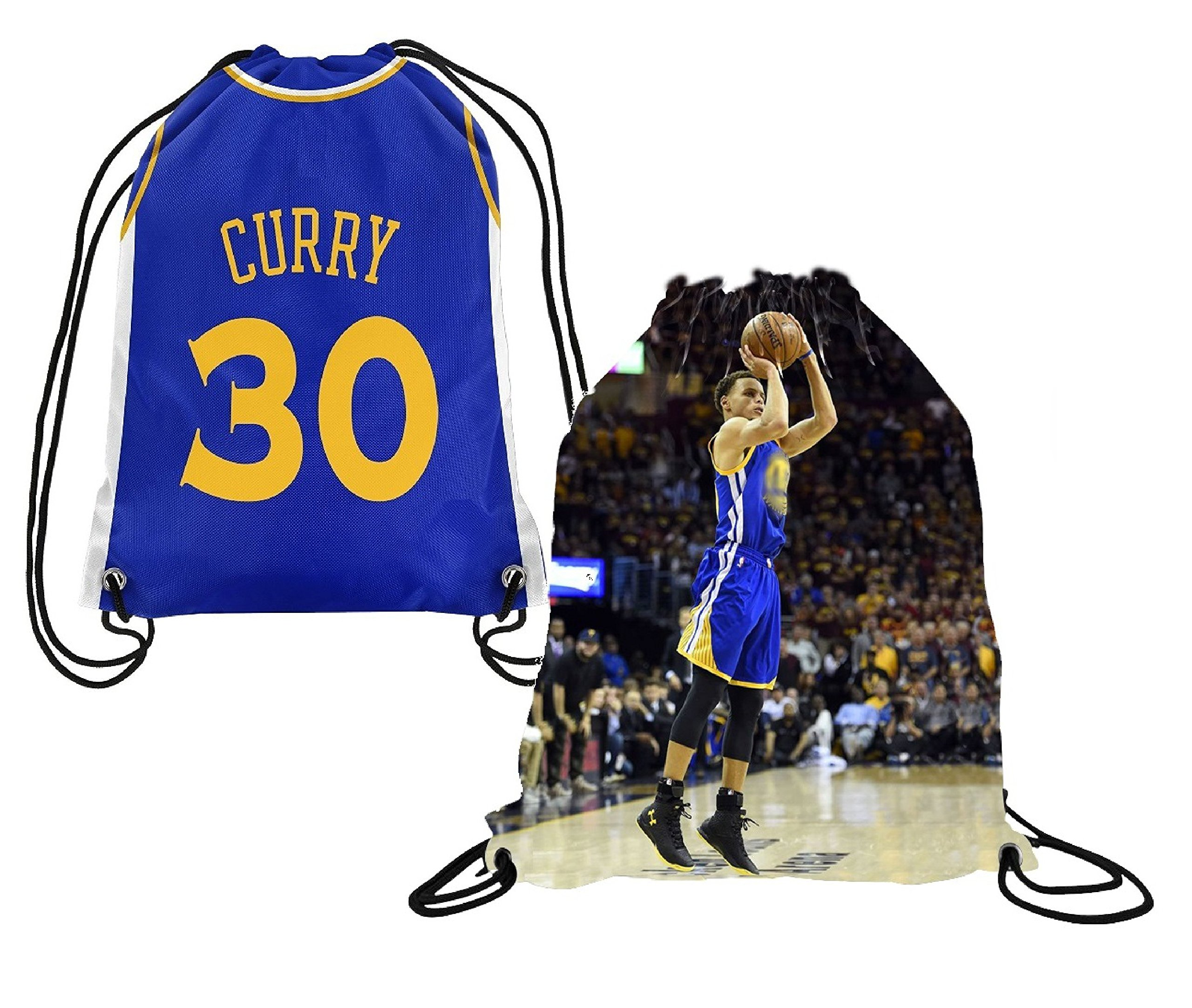 new styles 716a1 47bd2 Buy Steph Curry Jersey Style Picture Basketball Drawstring ...