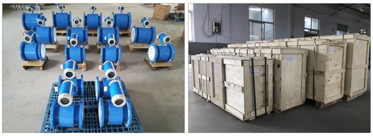 GAIMC 4-20ma פלט דיגיטלי מים אלקטרומגנטית זרימת מד סין