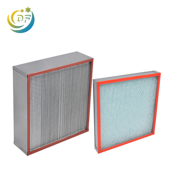 Hot selling large hepa filter supplier true