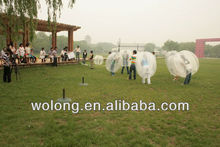 Hot-selling Inflatable Bumper Ball, human sized soccer bubble ball