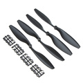 2 Pair RC Drone Accessory Propellers 1045 CW CCW Propeller for Multi Copter Quadcopter Black K5BO