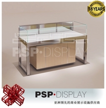 Specialized MDF with aluminium and glass shop display showcase