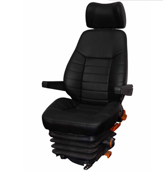 High Quality Pvc Fabric Used Grammer Truck Driver Seat For
