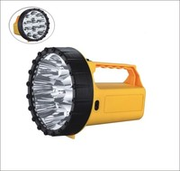 Solar rechargeable outdoor night light led flashlight lighting emergency battery operated torch