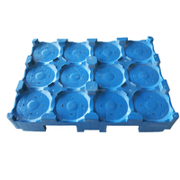 High Quality Stackable Water Bottle Bucket Plastic Pallet