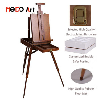 French Easel Wooden Artist Studio Easel Portable Folding Art Artist Tripod Painters Easel Buy Wooden Artist Studio Easel Artist Wooden Table
