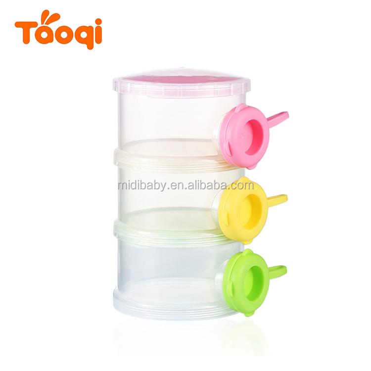 Milk Powder Around Container Portable Formula Dispenser Airtight 2 Wide Varieties