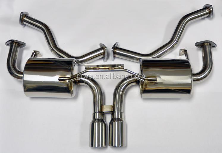 Stainless Steel Exhaust Catback for Porsche Boxster Cayman 987