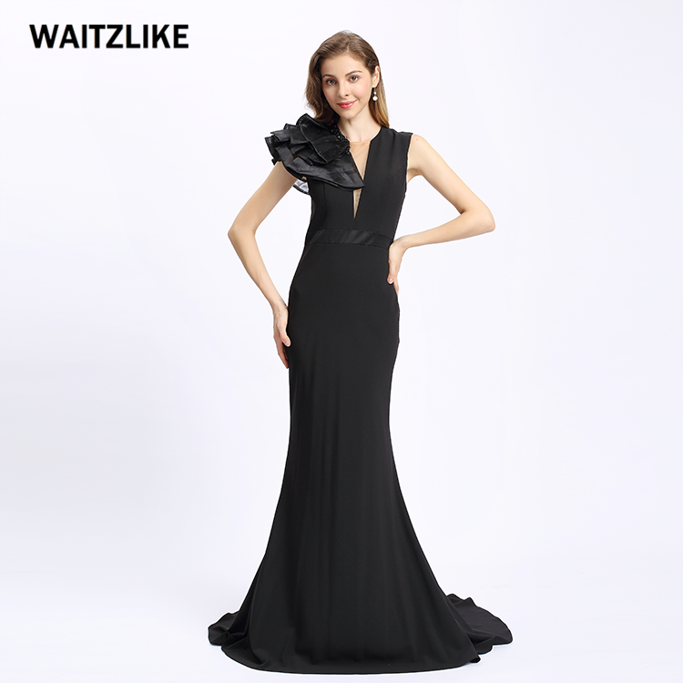 56a1cecb244 High Quality Fashion Night Gown Formal Evening Gown Mermaid Patterns  Backless Navy Vestidos De Fiesta Evening Dresses 2018