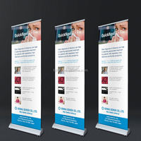 Richtech economical projected roll up banner custom roll up stands size