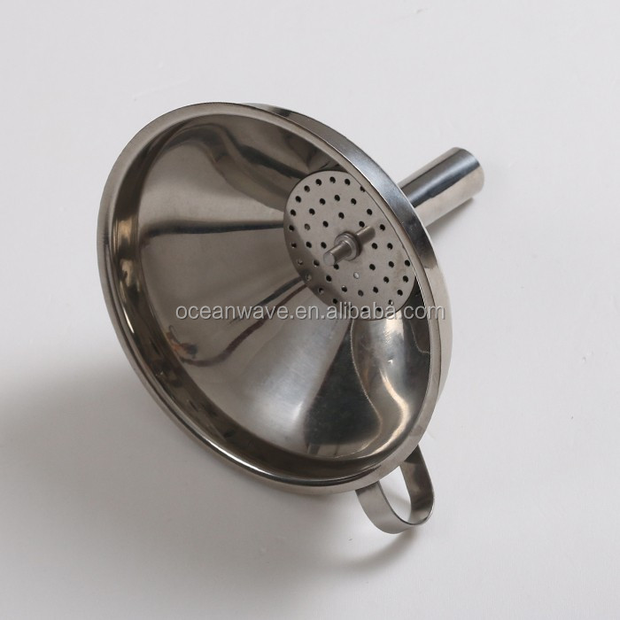 kitchen gadgets cheap funnel stainless oil funnel