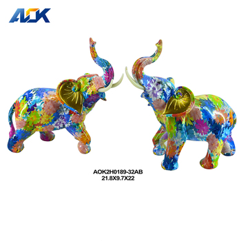 Statues Home Large Indian Elephant Decoration