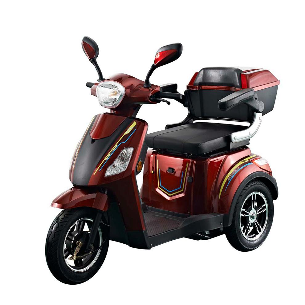 Passeggero 3 ruote scooter elettrico trike 500 W