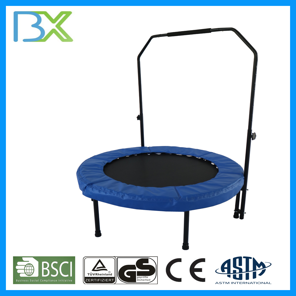 Fully Certificated Big Folding Trampoline With Trampoline Safety Net