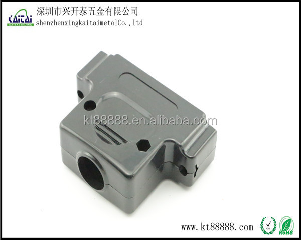 DB50p plastic dust cover connector with 50p female male hood