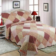 Queen Borduren Custom Print Quilt/Dekbed