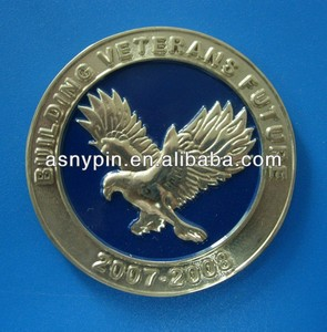 USA eagle image gold coin custom design factory directly price souvenirs