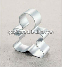Aluminum cake decorating Xmas snowman cookie cutters