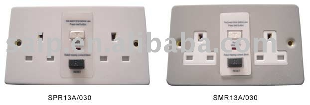 RCD Protected Safety Socket
