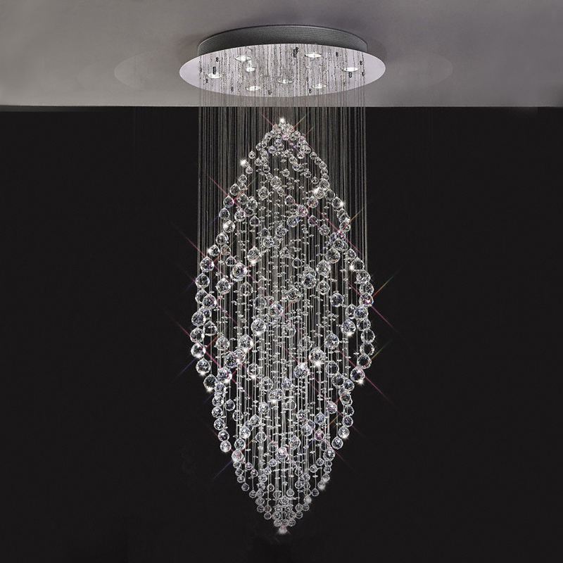 Crystal light home chandelier factory outlet crystal chandelier ceiling lamp for stair