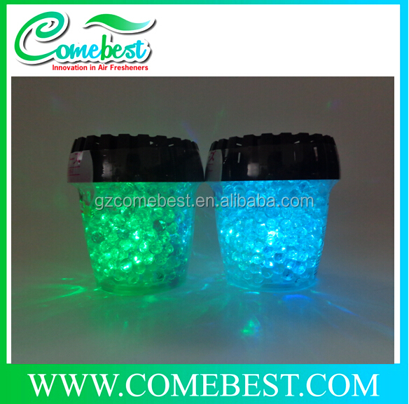 color beads air freshener supplier Unique aromatic crystal gel beads air freshener
