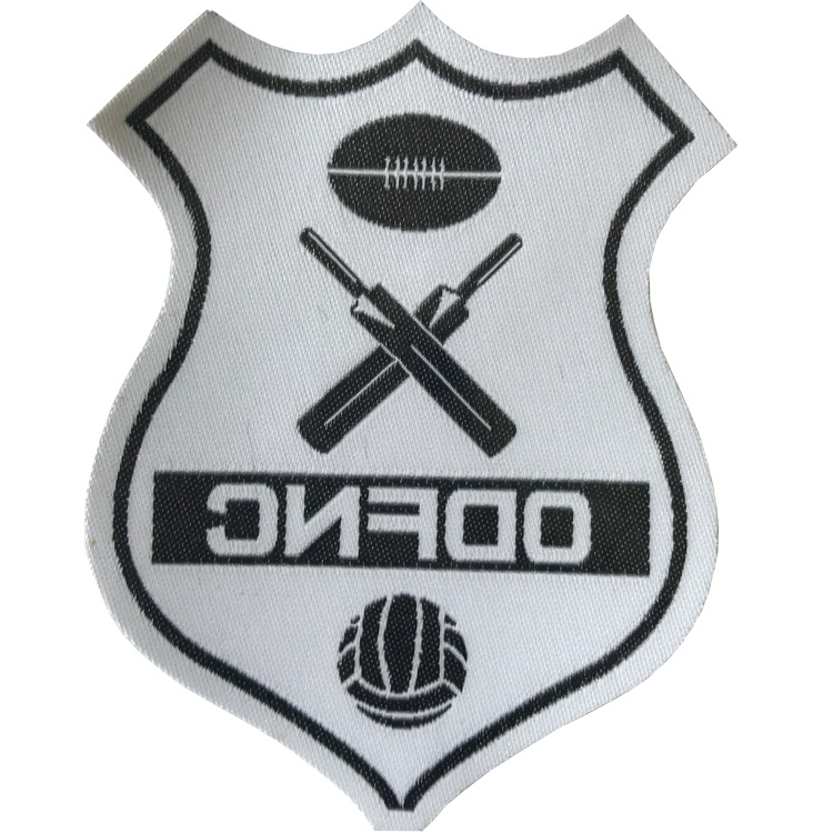Factory Direct Iron On Patches On Clothing Iron Melting Woven Patch Soccer Patches Iron On Football Patches
