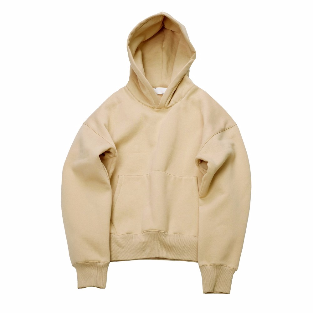 Cotton Men Casual Plain Dyed Custom Oversized Hoodie/ Design Your Own Sweatwear Hoodie