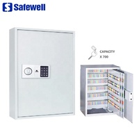 Safewell KS-700 Hostel Office Use Electronic Key Cabinet Key Safe