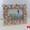 2015 Beautiful aluminum mini metal photo frame for decoration indian wedding return gifts bowl